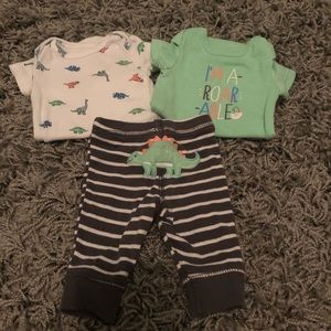 Carters newborn boy outfit